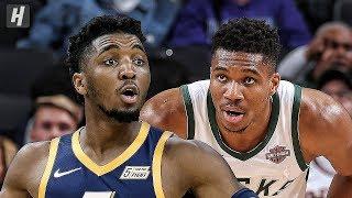Utah Jazz vs Milwaukee Bucks  - Full Game Highlights | October 9, 2019 | 2019 NBA Preseason