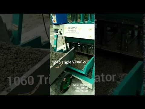 Solid Hollow Block Making Machine