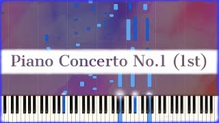 Chopin: Piano Concerto No.1 (1st Mvmt) [Piano Solo | Synthesia]