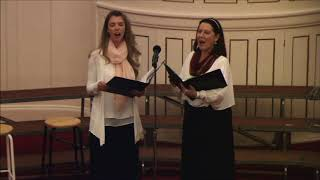 Kelly and Bonnie Sing Gesu Bambino
