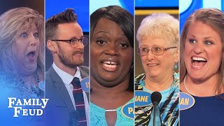 Family Feud's BEST BLOOPERS And EPIC FAILS!!! | Part 5
