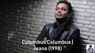 Columbus Columbus   Jeans (1998)   AR Rahman   - YouTube