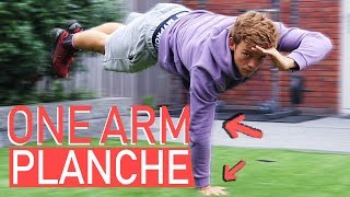 ONE ARM PLANCHE CHALLENGE - Is It Possible?