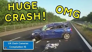 UK Dash Cameras - Compilation 15 - 2019 Bad Drivers, Crashes + Close Calls