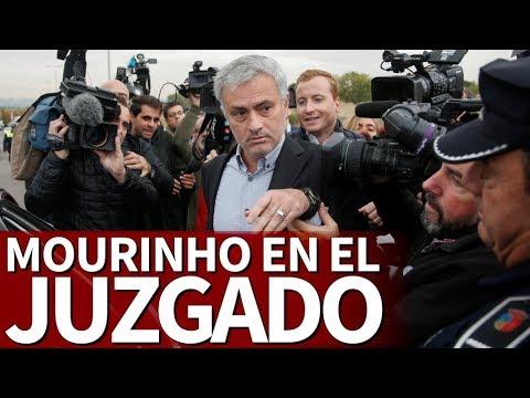 Mourinho declara en el juzgado |Diario AS
