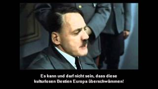 Hitler plans scene (original german subtitles)