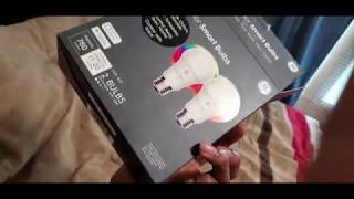 C by GE color  lights unboxing!   Tech Tuesdays