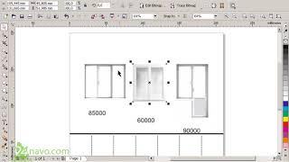 Создание листовки с отрывными листочками ч-1. Как сделать листовку в CorelDraw