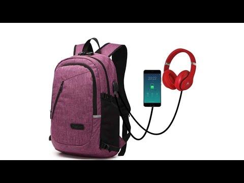 Reseña mochila duxongo con cargador de teléfono/ Amazon experiencias