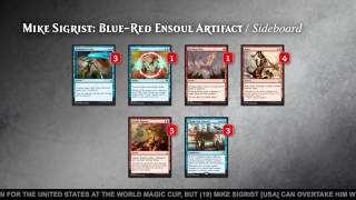 Pro Tour Magic Origins Semifinals (Standard): Paul Jackson vs. Mike Sigrist