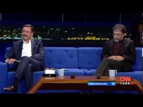 Melih Gökçek ve Ahmet Hakan bu kez ekranda kapıştı