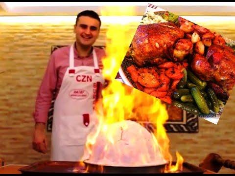 ألذ دجاج (المحمر) مغربي مراكشي مطهو على طريقة الشيف بوراك التركي