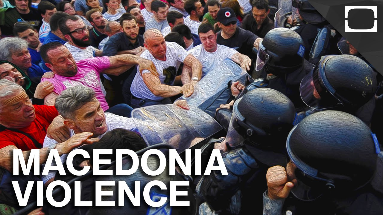 Growing Fears Of Ethnic Violence In Macedonia thumbnail