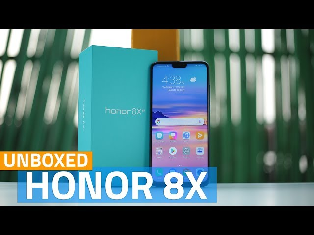 Honor 8X First Impressions | NDTV Gadgets360 com