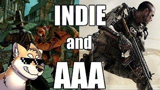 Indie Games Vs. AAA Games
