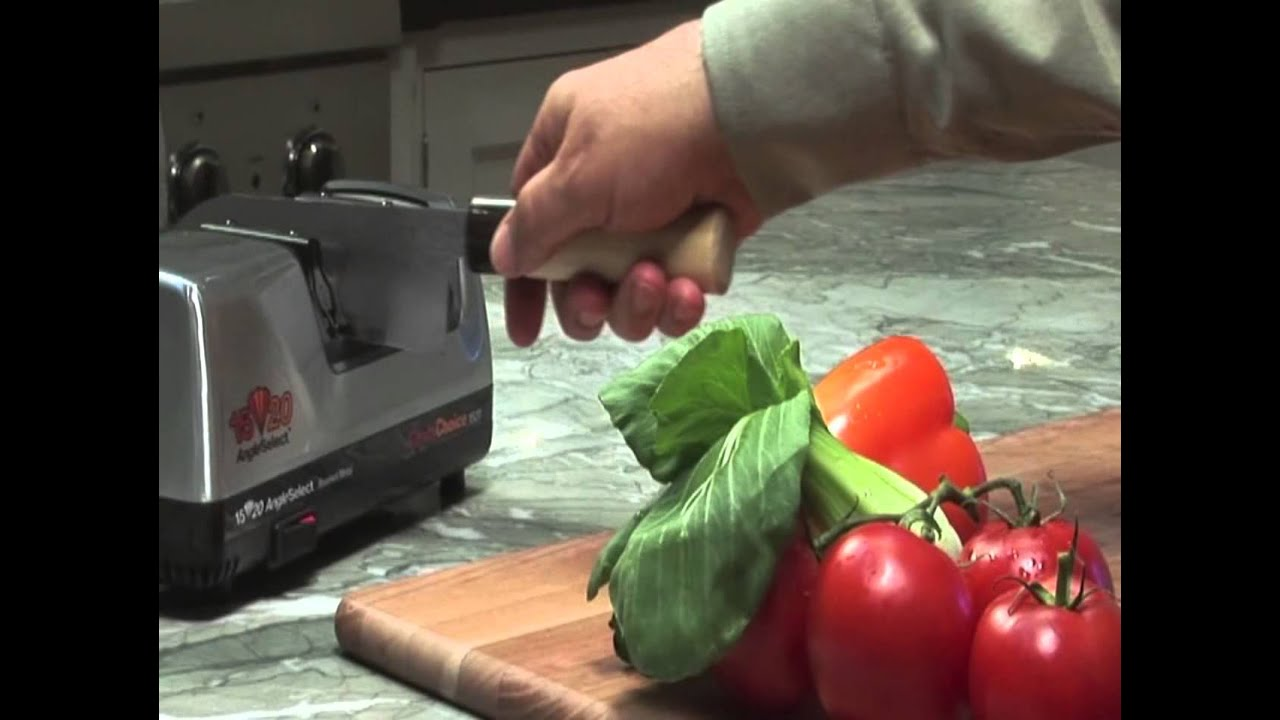 Video - Chefs Choice Messenslijper CC1520