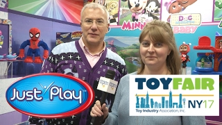 Toy Fair 2017: Just Play's Mickey & Minnie, PJ Masks, Spider-Man. New reveals!