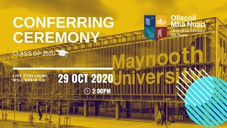 2:00PM – Conferring Ceremony – Thursday 29 October