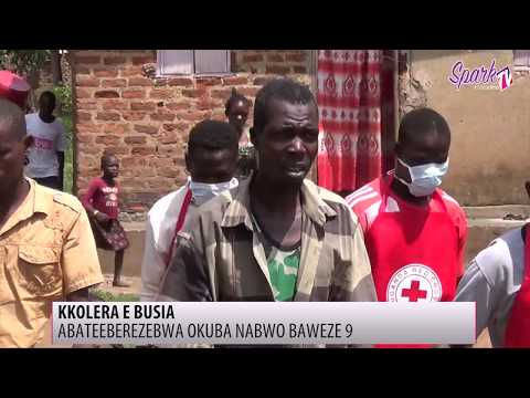 Obulwadde bwa Cholera buzeemu okulumba abantu e Busia
