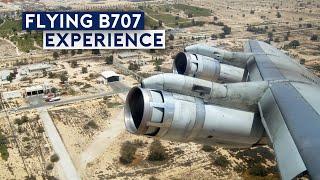 Flying the World's Last Passenger Boeing 707