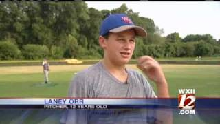 12-Year-Old Pitcher Hurls It Fast
