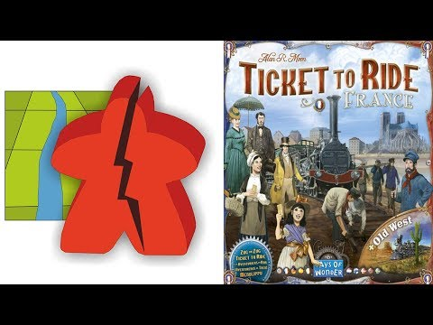 The Broken Meeple - Ticket To Ride: France & Old West Review