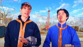 Video Game Flaws - Fallout 4 (Live Action Parody)