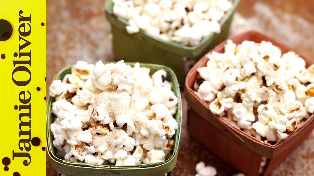 Jamie's Spiced Christmas Popcorn with Gennaro Contaldo
