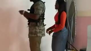 Medikal & Fella Makafui Shooting Official Video For ' Omo Ada' Dem Sleep