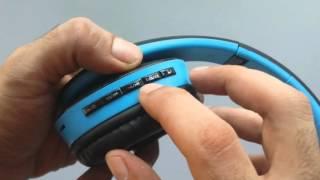 Беспроводные Bluetooth наушники Stereo  STN-12 от компании ТехМагнит - видео
