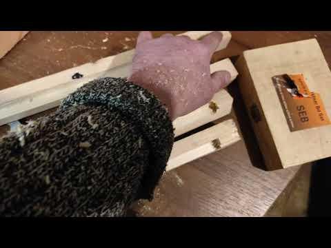 Ульи своими руками. Как сделать деревянную обвязку на корпусе улья из ППС.#Пчеловодство.