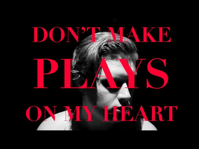 Don't Make Plays On My Heart - State Lights