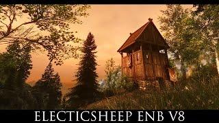 BEST SKYRIM FANTASY ENB - Tetrachromatic ENB for Vivid Weathers