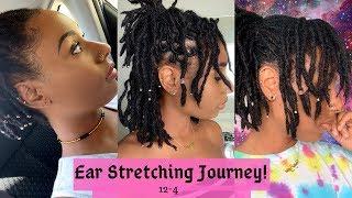 Ear Stretching Journey! Gauge Sizes 12-4| Pretty Hippie