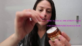 Pure Magical Treatment Mask 5 Seconds Repairs Damage Hair REALLY NOT 5 Seconds!