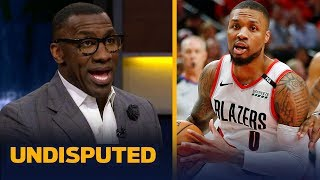 Shannon Sharpe weighs in on Damian Lillard's diss track on Shaq   NBA   UNDISPUTED