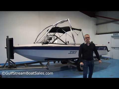 Ski Nautique Closed Bow Ski Boat — Review and Water Test by GulfStream Boat Sales