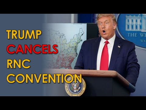 Donald Trump Cancels Jacksonville RNC Convention; still wants to FORCE schools open