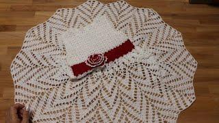 Vestido Tejido A Crochet Para Niña De 6 Años 123vid