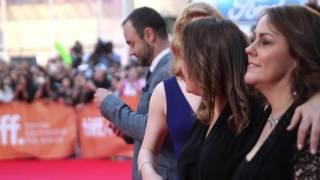 The Dressmaker: Sarah Snook TIFF 2015 Movie Premiere Gala Arrival