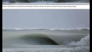 Slurpee waves! The moment semi-frozen breakers