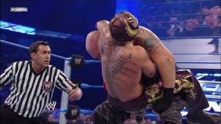 Rey Mysterio vs. Luke Gallows - YouTube