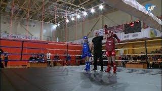 Чемпионат и первенство Новгородской области по тайскому боксу состоялось на центральной спортивной арене