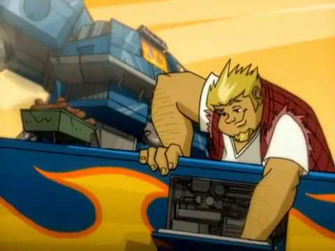 Chicks Dig Giant Robots - Back in the 2000's There Was this TV Show: Megas XLR