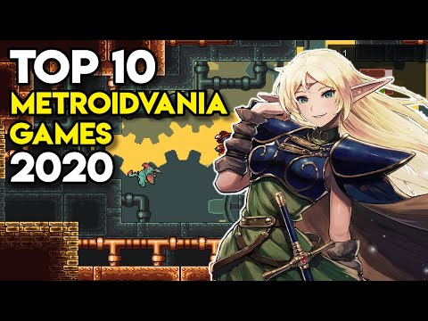 Top 10 METROIDVANIA Games of 2020