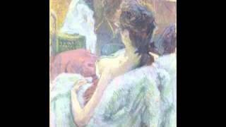 The Model Resting (Lautrec)
