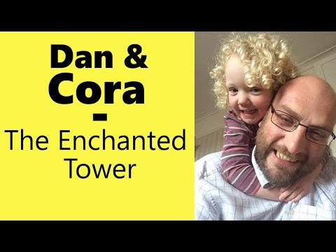 The Enchanted Tower Board Game - With Dan and Cora
