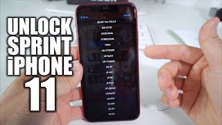 How To Unlock iPhone 11 From Sprint to Any Carrier