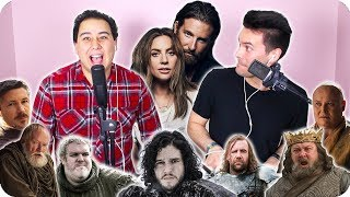 """Lady Gaga  Bradley Cooper - """"Shallow"""" Game of Thrones Impersonation Cover (LIVE ONE-TAKE!)"""