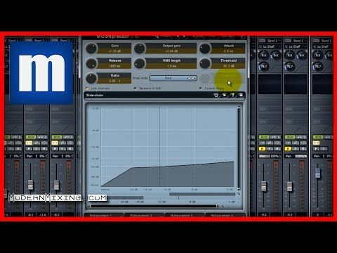 #11.4 – How to Compress Vocals (Parallel Compression) – ModernMixing.com